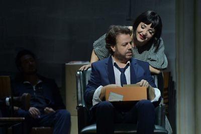 Mimi (Liana Aleksanyan) & Rodolfo (Eduardo Aladrén)